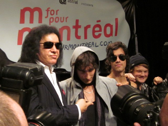 Gene Simmons @ M for Montreal