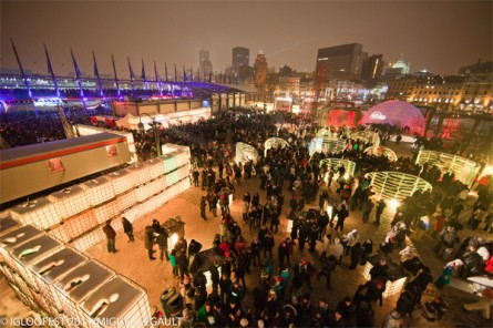 Last year's Igloofest drew 60,000 tuques.