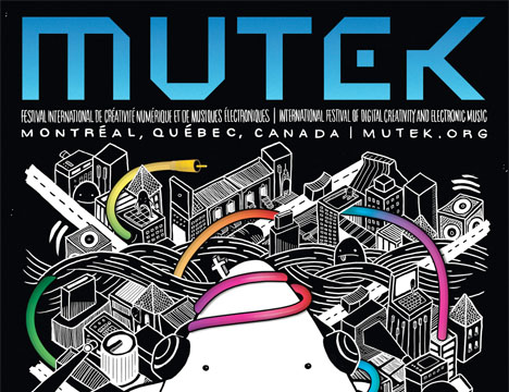 13th MUTEK brings the noise to Montreal!