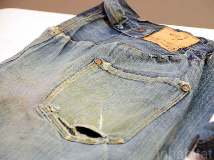 The oldest pair of jeans in the world!