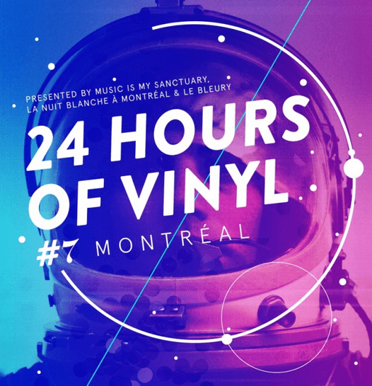 1 day and night of Vinyl & light | MIM 24hrs Nuit Blanche Mtl