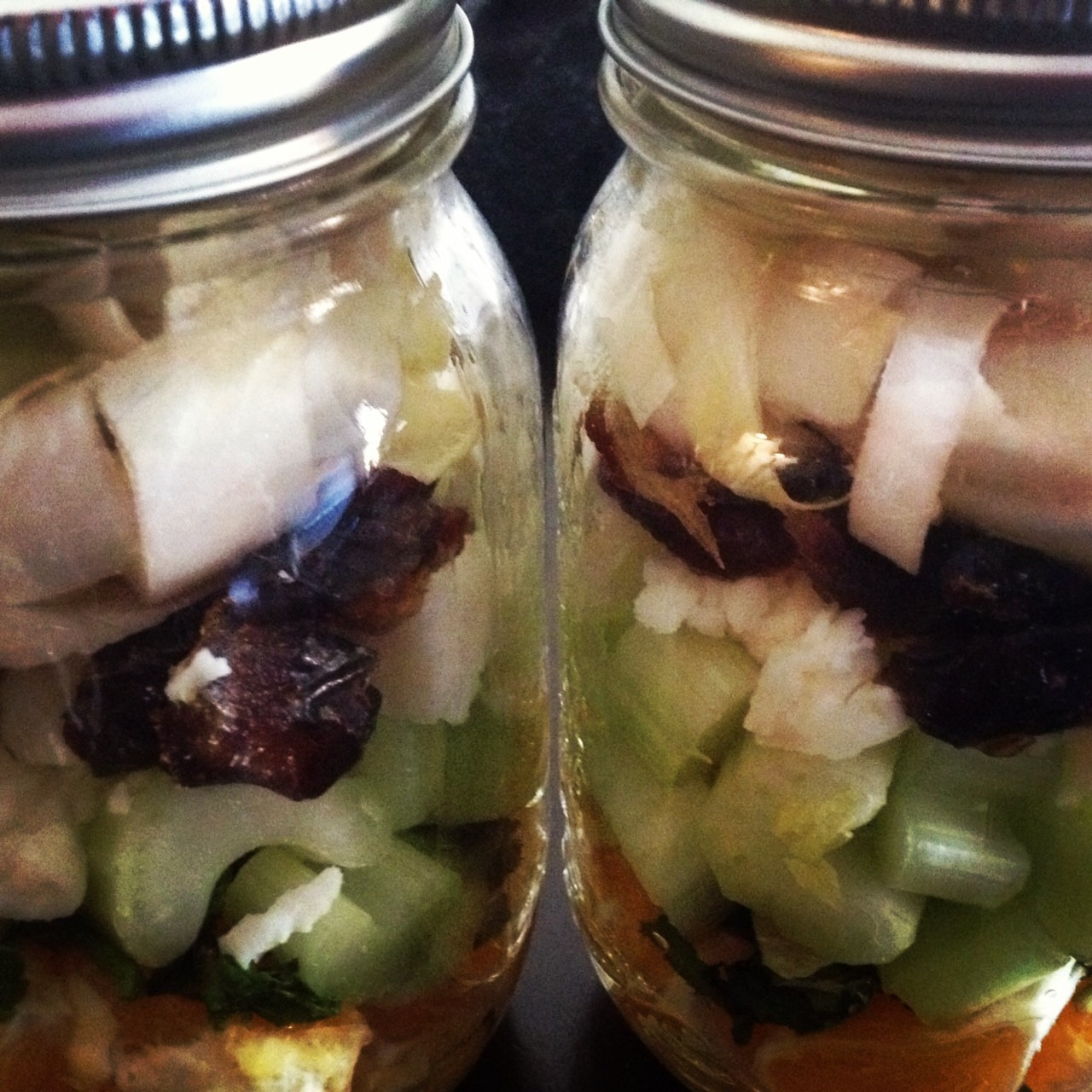 Salads-in-a-Jar | A bottle of France