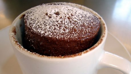 Nutella Mug Cake | 3-Minute Delicious