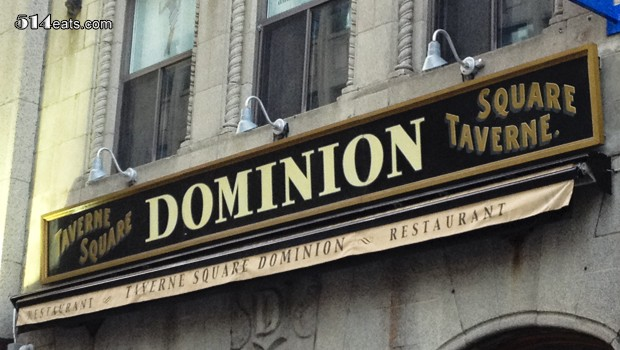 Dominion Square Tavern – You're NOT on vacation!
