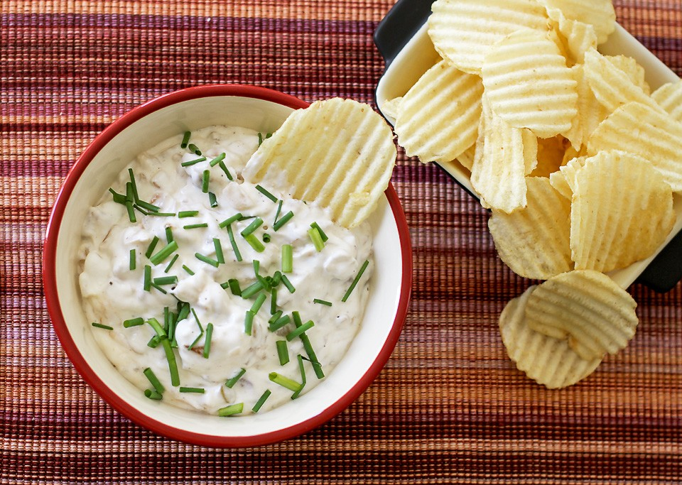 Easiest Onion Chip Dip in the world | Bands Eats