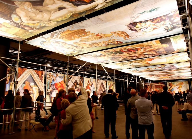 Michelangelo's Sistine Chapel: The Exhibition | @ the State Fair of Texas in Dallas
