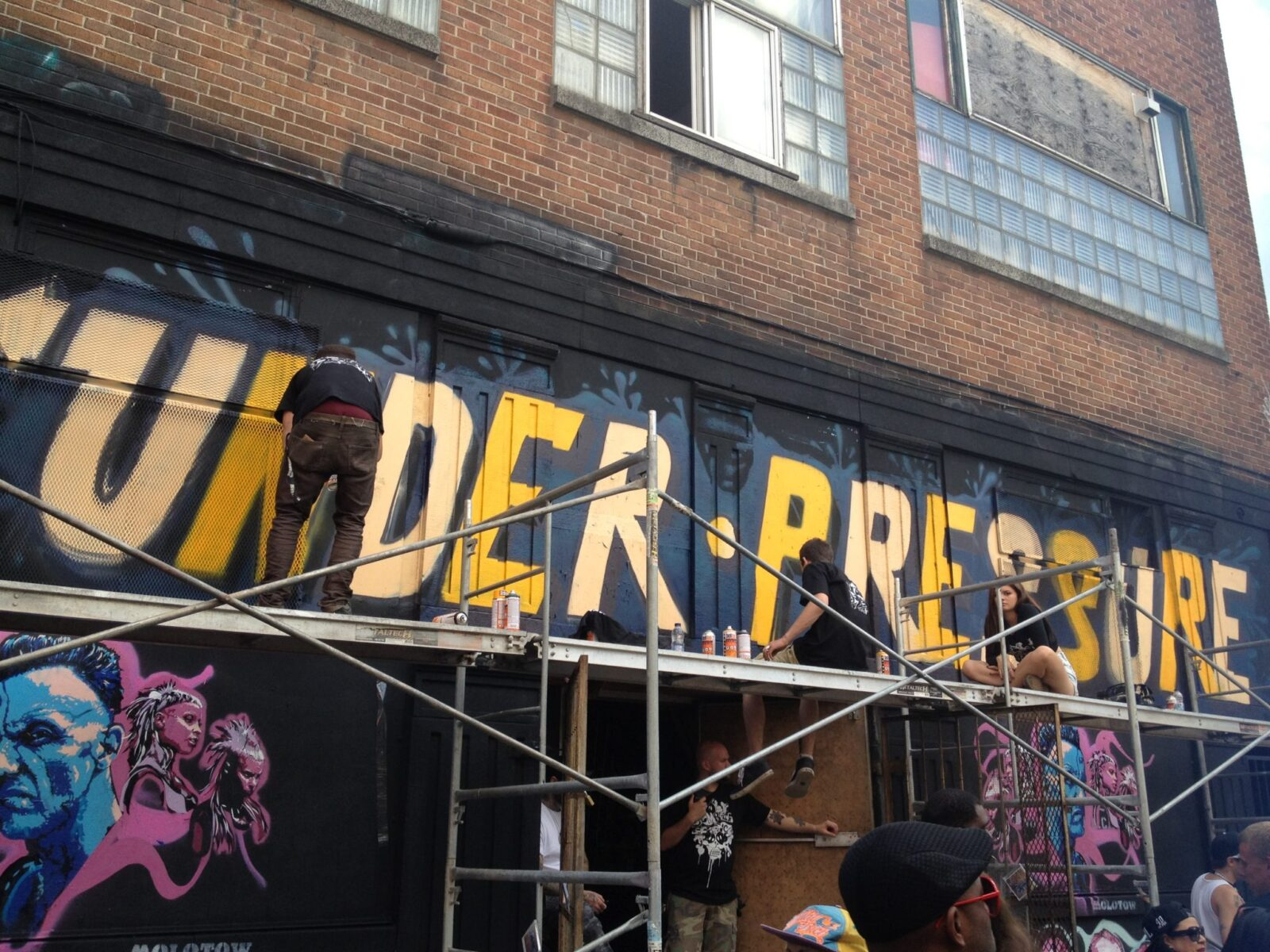 Under Pressure | 20 years of graffiti MTL style