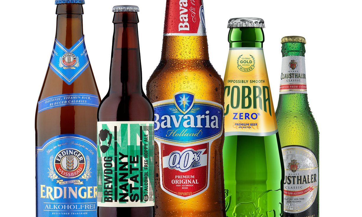 BEST alcohol free Beer & Coolers | 2016