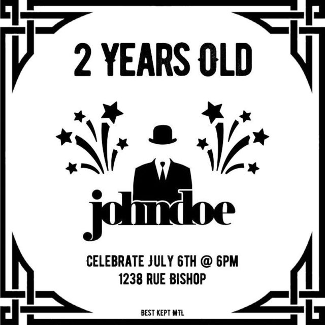 Come grab a drink and celebrate barjohndoe s 2nd anniversaryhellip
