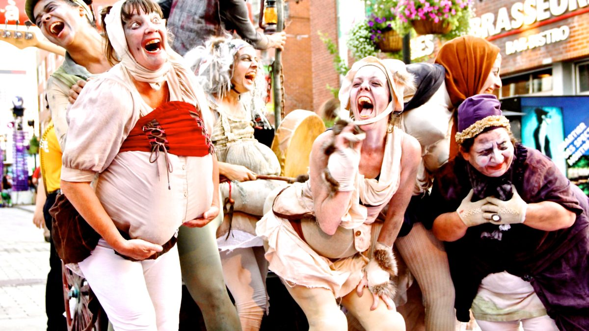 Did you know Montreal has a Clown Festival? NOT your average clowns