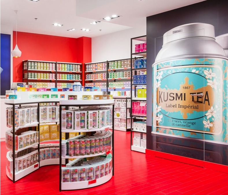 Kusmi Tea Paris opens a new tea shop on Montreal's North Shore