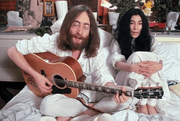 Fairmont Queen Elizabeth Celebrates the 50th Anniversary of Bed-in for Peace w/ John Lennon and Yoko Ono