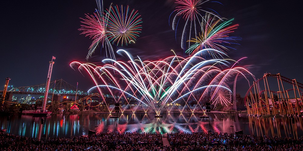 International Fireworks Competition Loto-Québec starts with a bang!