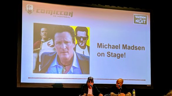 Michael Madsen candidly discusses his film career during a panel at Montreal ComicCon 2019.
