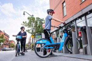 The E-Bixi is here in MTL