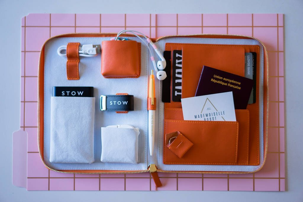 Passport and document travel case