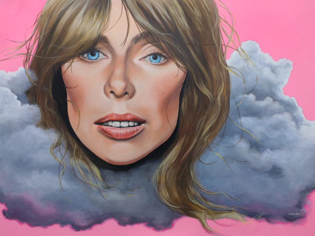 """""""FemCan Paintings"""" by Leanne Davies at Never Apart Gallery"""