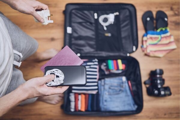 Travel essentials for organized travel