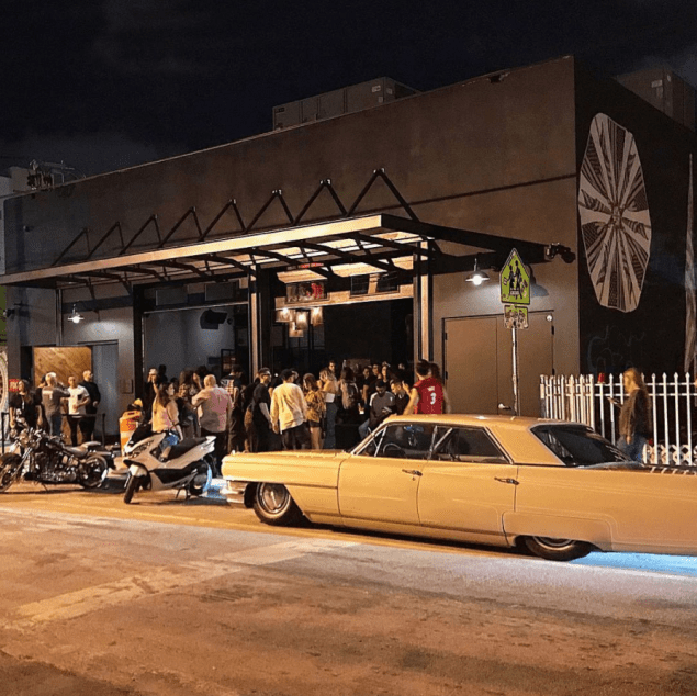 a car at Nightlife guide to Miami Art Basel 2019