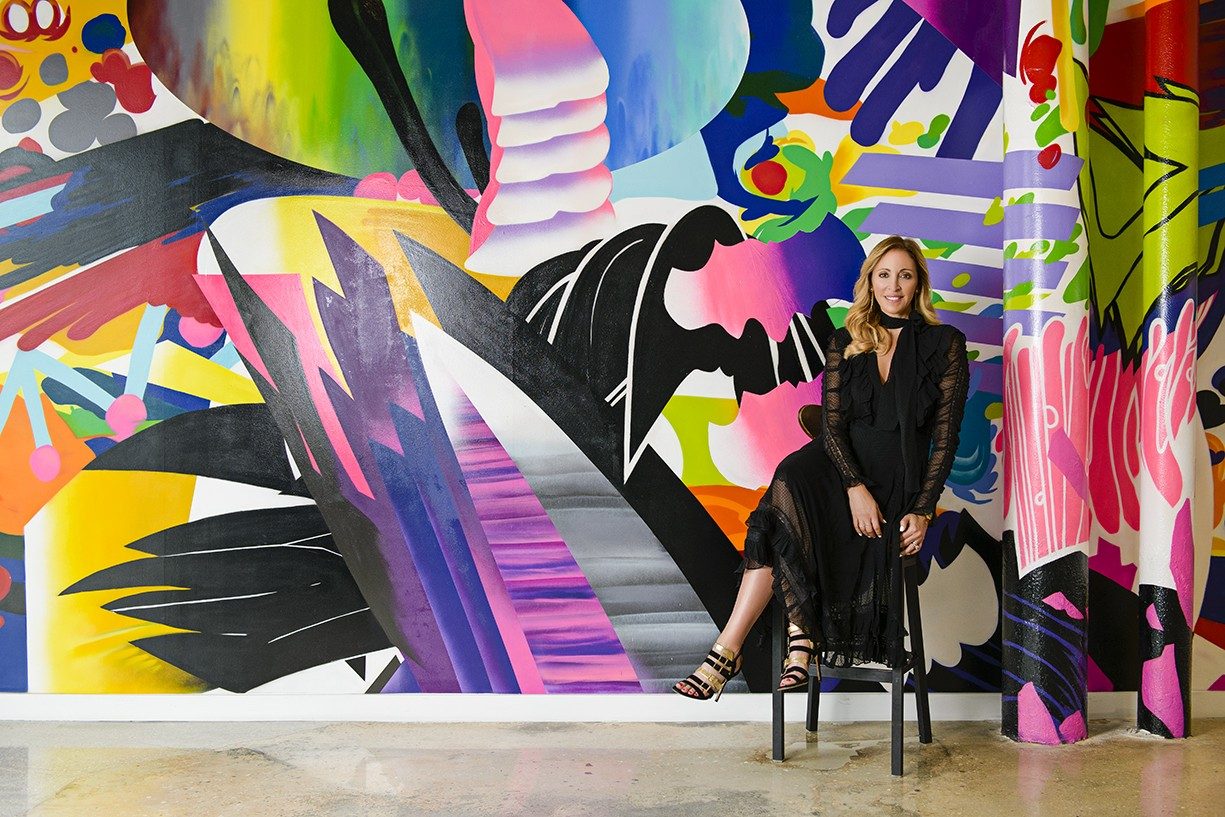 a woman on art Nightlife guide to Miami Art Basel 2019